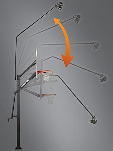 exclusivo juego de lámparas para basketball goalrilla