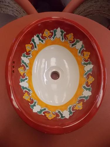 exclusivo lavabo ovalin de talavera gruesa. el mejor.