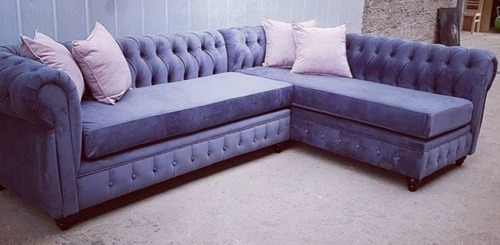 exclusivo living ele modelo chesterfield, capitone original