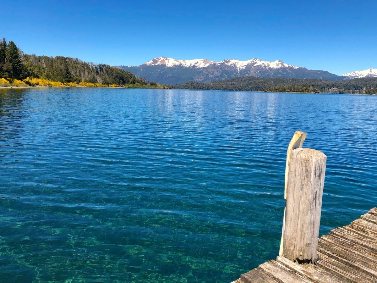 exclusivo lote 5.050 m2  con costa  lago nahuel huapi, villa la angostura
