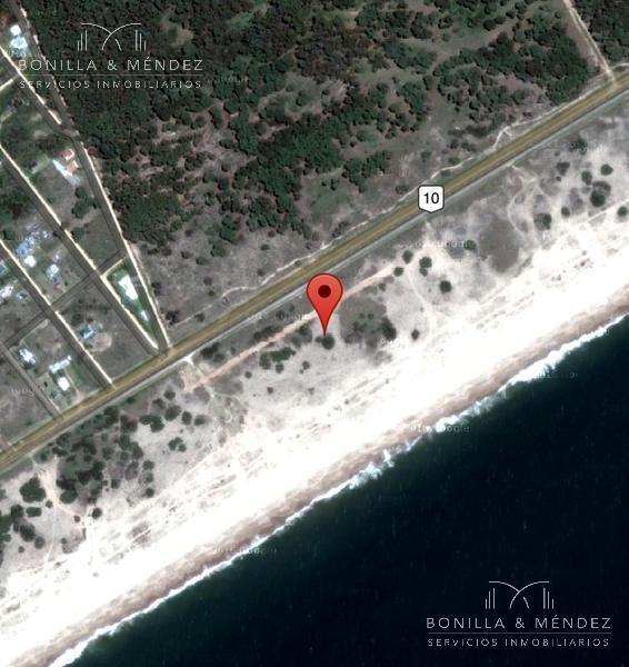 exclusivo lotes sobre el océano, ruta 10 y calle 45