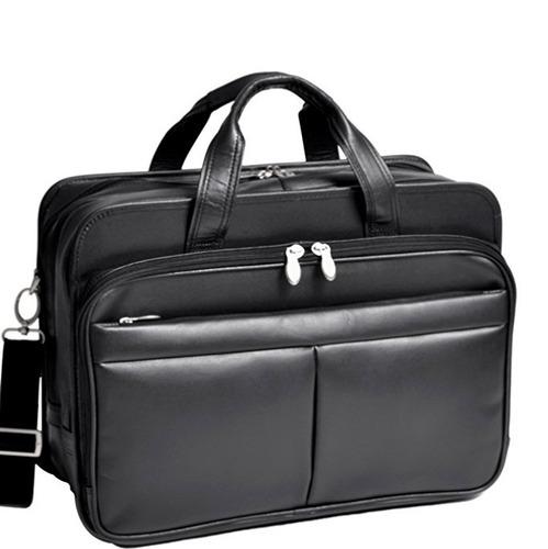 exclusivo maletín para laptop tipo médico mcklein