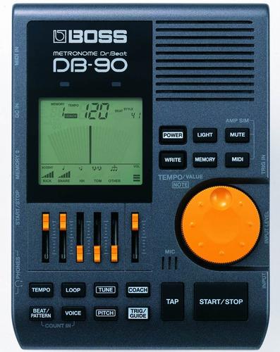 exclusivo metrónomo importado boss db-90