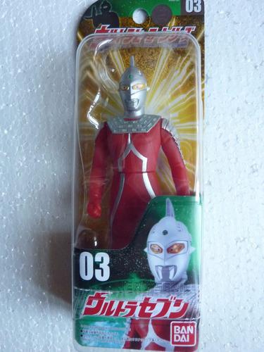 exclusivo muñeco de ultra siete. nuevo. sellado.