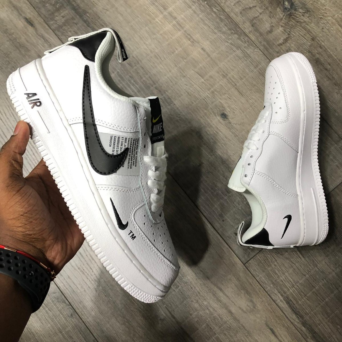 Exclusivo Nike Air Force 1 Low Lv8 Utility - Hombre 2019