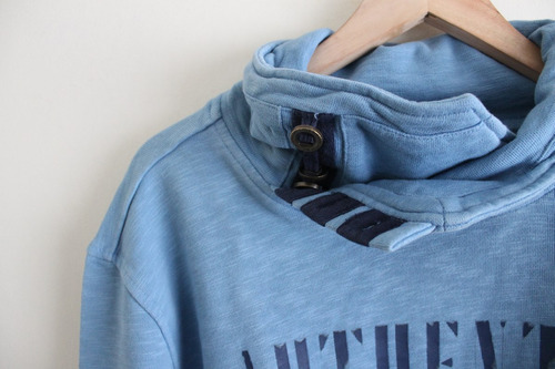 exclusivo poleron pepe jeans heritage nuevo azul xxl