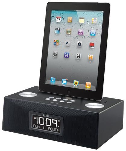 exclusivo radio reloj despertador ipad iphone ihome id83bzc