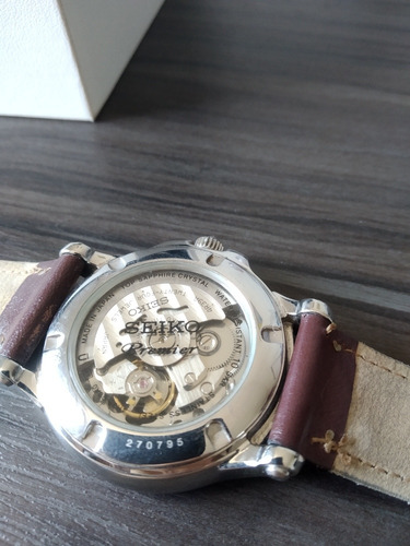 exclusivo relógio seiko premier 4r39 made in japan - ssa021