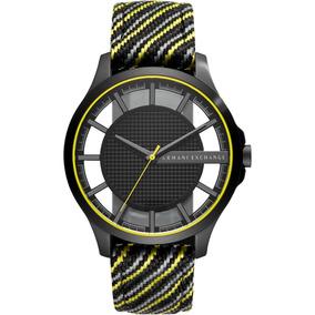 bdc17bc89455 Reloj Armani Exchange Hombre Negro Con Azul - Relojes Exclusivos de ...