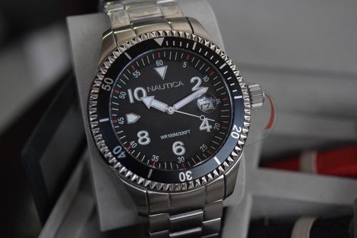 exclusivo reloj nautica box set 2 ext unico! tiempo exacto