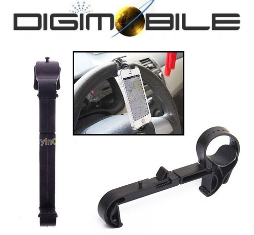 exclusivo soporte universal volante para celulares vertical