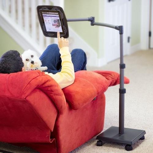 exclusivo stand multimedia para ipad tablets y ebooks levo