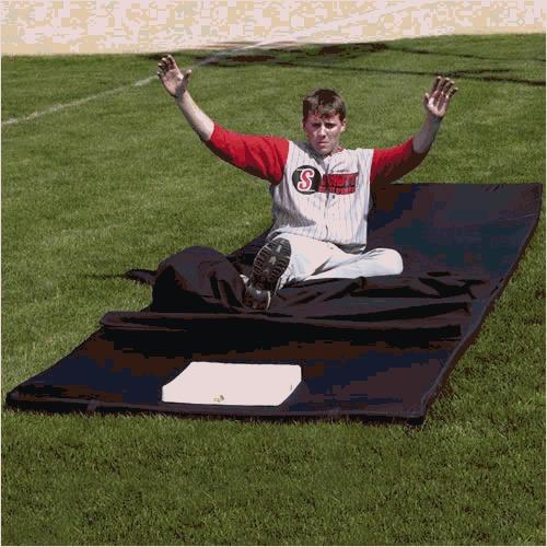exclusivo tapete para entrenar beisbol schutt sports slide