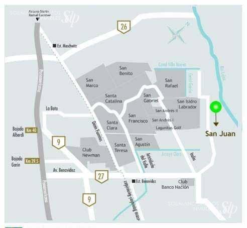 exclusivo terreno en venta bº san juan - villanueva - lote 17