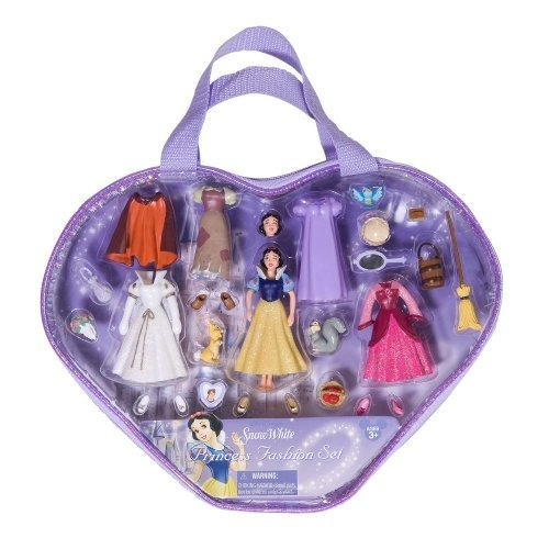 exclusivo walt disney snow white princess fashion set
