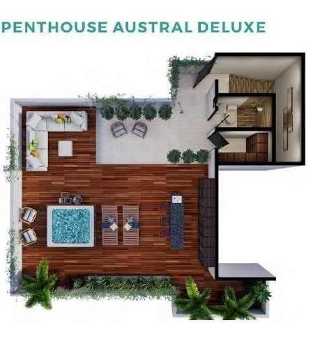 exclusivos penthouse en norden 48 mod. austral delux temozon