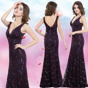 Vestido Noche Para Chaparritas Vestidos De Mujer Largo 6