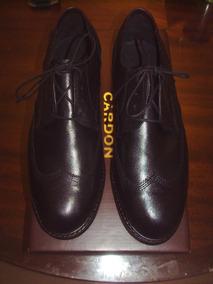 Zapatos Hombres Cardon Exclusivos T41 Oferton Ultimo Par TJclF1K