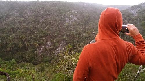 excursión a la quebrada de los cuervos,laguna de los cuervos