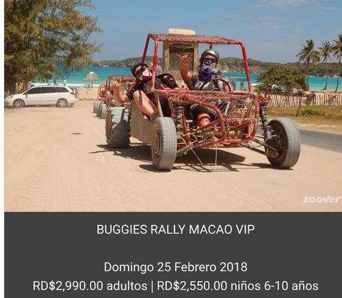 excursión en buggies rally