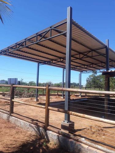 execução de montagem de estruturas metálicas e obras civis