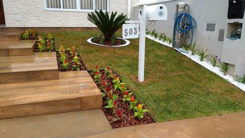 execução e manutenção de jardim