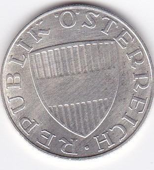 exelente estado! 10 schilling 1968 - austria - plata