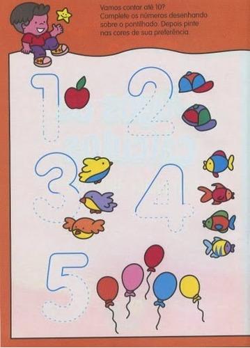 exercícios ilustrativos do jardim 1 ao jardim 2