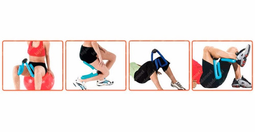 exercitador e tonificador de coxas, braços, costas, peitoral