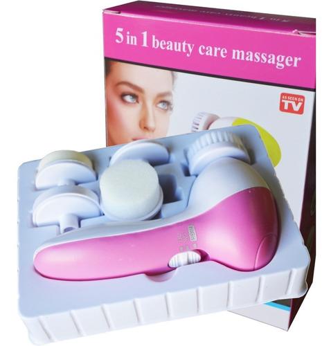 exfoliador facial 5 en 1 spin spa accesible y efectivo crazy