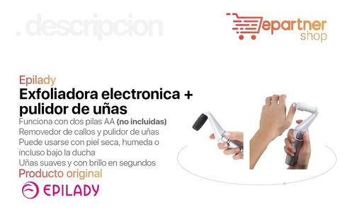 exfoliadora electrónica de pie remueve callos pule uñas