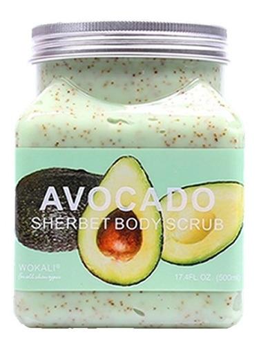 exfoliante corporal wokali varios aromas 500 grs