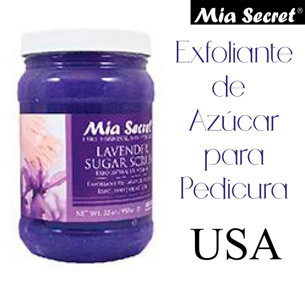 Exfoliante Mia Secret Profesional Pedicura Spa Estetica Uñas ...