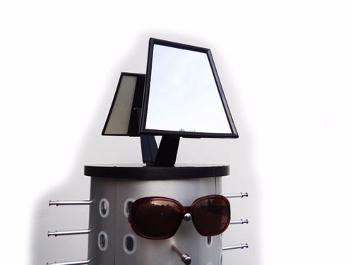 exhibidor acrilico 44 pares de gafas espejos suxes sas