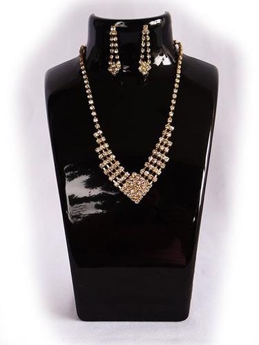 exhibidor acrilico cuello collar 20 cm alto creaciones in ca