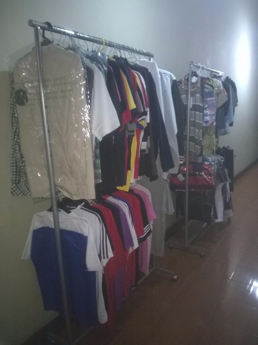 Exhibidor colgador ropa de metal 2 pisos el m s barato - El mas barato muebles ...
