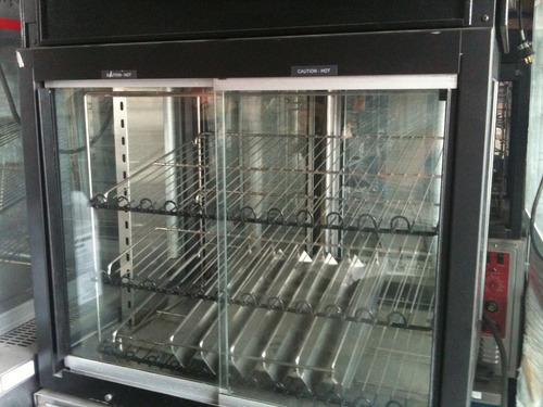 exhibidor de alimentos calientes hatco afst-2x