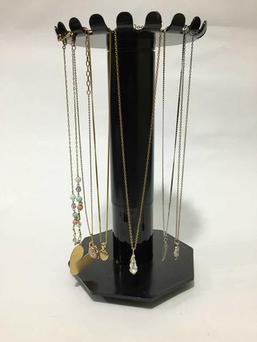 exhibidor de collares, soporte de cadenas, base, acrilico