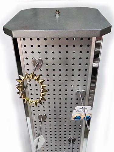 exhibidor display gancho multiple mercancia bisuteri suxes