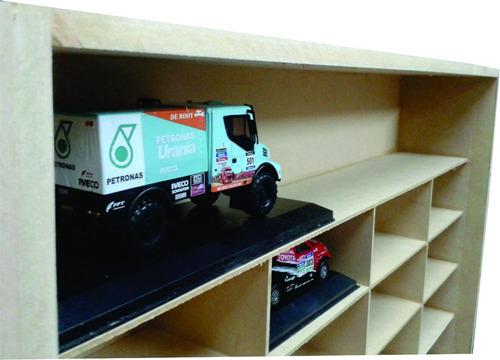exhibidor estanteria coleccion dakar