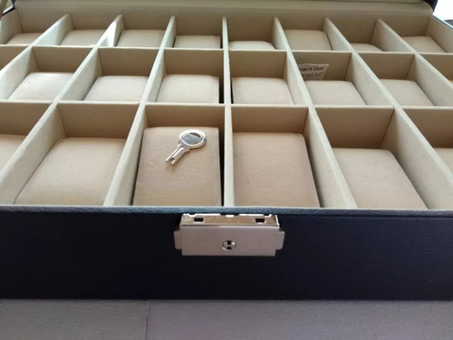 exhibidor joyas reloje relojes caja