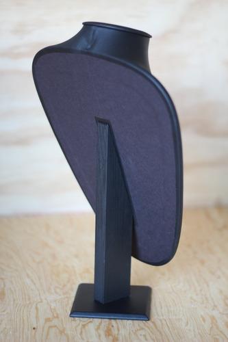 exhibidor joyeria cuello realzado grande para collar a008