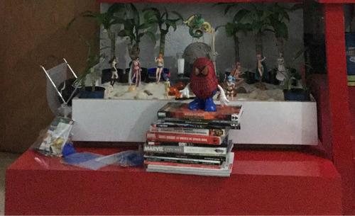 exhibidor mesa de centro y jardín zen