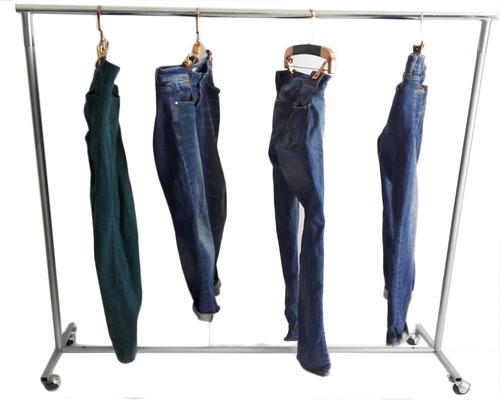 exhibidor metalico colgador  para ropa