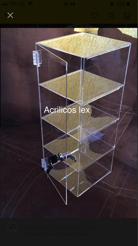 exhibidor para accesorios de acrílico 48 de alto