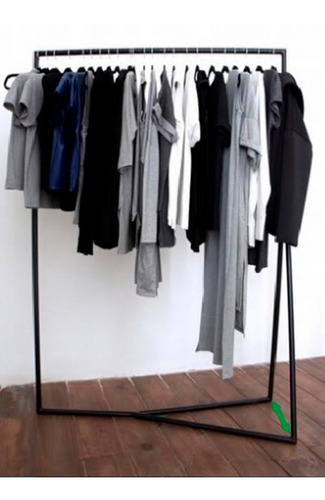 exhibidor perchero colgador piramide para ropa