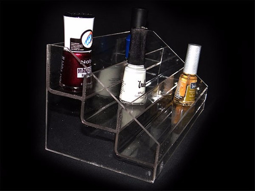 exhibidor pintura de uñas esmalte suxes sas
