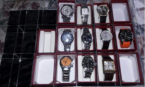exhibidor porta relojes en acrilico