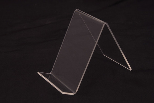 exhibidor / soporte de acrílico para celular 6 cm. de ancho.