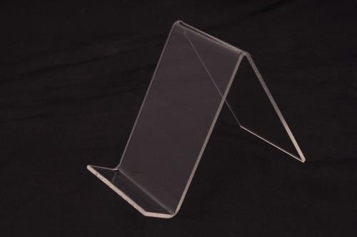 exhibidor / soporte de acrílico para tablet.
